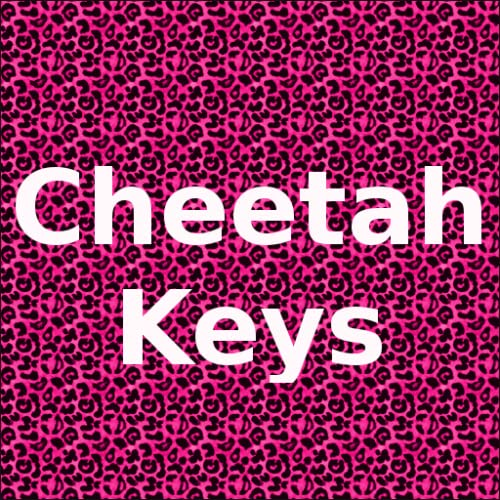 Pink Cheetah Keyboard Skin / Theme