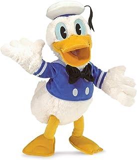 Folkmanis Disney Donald Duck Character Hand Puppet, White, Blue, Gold, Black, 1 EA