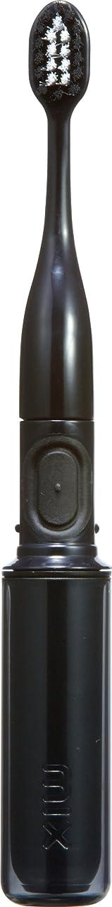 ペフ靴聖なるラドンナ 携帯音波振動歯ブラシ mix (ミックス) MIX-ET スモーク