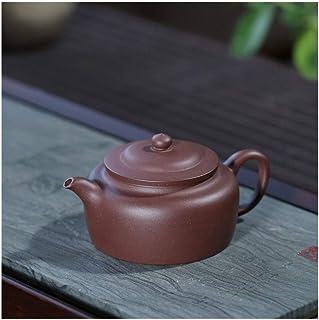Tekanna japansk stil, Presentkort Teapot Tea Cup Lila Clay Pot Tekanna ansträngning Chun Tak 120ml Färg: Lila lera (Color...