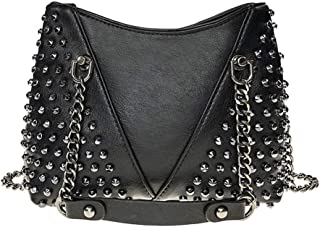 BUKESIYI Damen Tasche Umhängetasche Handtasche Frauen Klein Schultertasche Weekender Lack PU Leder CCDE77208
