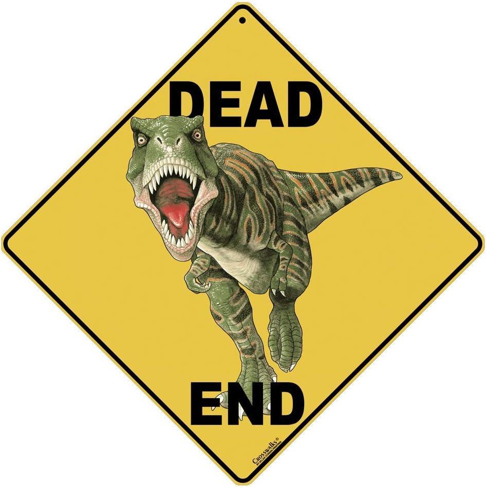 CROSSWALKS Dinosaur Dead End 12