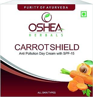 OSHEA Carrotshield Anti-Pollution Day Cream, 50 G (White)