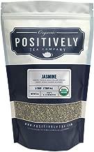 Positively Tea Company, Organic Jasmine Green, Green Tea, Loose Leaf, USDA Organic, 1 Pound Bag