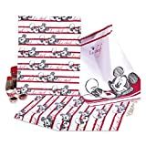 Disney 3 Paños con Mickey Mouse (Minnie Mouse) aprox. 50 x 70 cm 100 %...