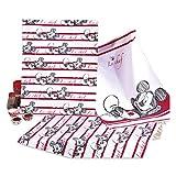 Disney 3 Geschirrtücher mit Micky Maus (Minnie Maus) ca. 50 x 70 cm 100% Baumwolle