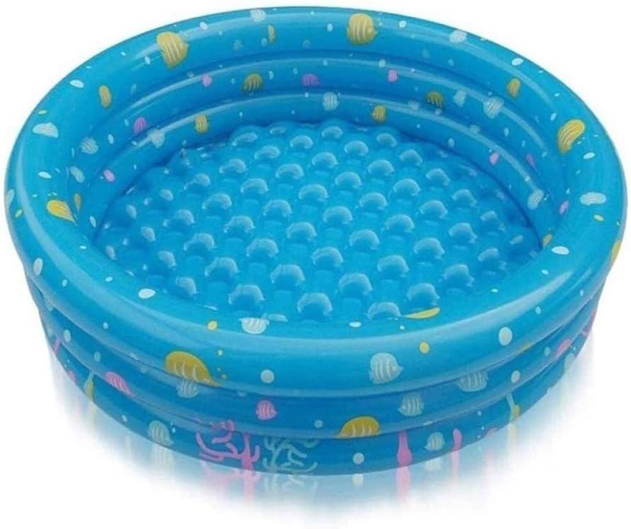 GAOTTINGSD Piscinas Hinchable Infantil for niños de la bañera Inflable, portátil PVC Piscina for la Familia, al Aire Libre Durante Estanque de Peces Ball Pool /, 100 * 40cm