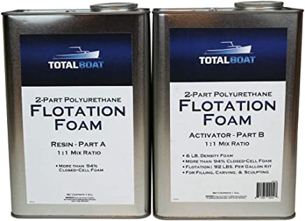 TotalBoat Liquid Urethane Foam Kit 6 Lb Density, Closed Cell for Flotation & Reinforcement (
