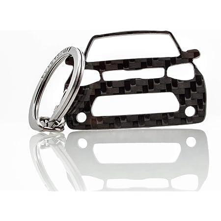 Blackstuff Carbon Karbonfaser Schlüsselanhänger Kompatibel Mit Soul Bs 624 Auto