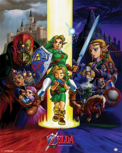 Pyramid America The Legend of Zelda The Ocarina of Time Video Game Gaming Cool Wall Decor Art Print Poster 16x20