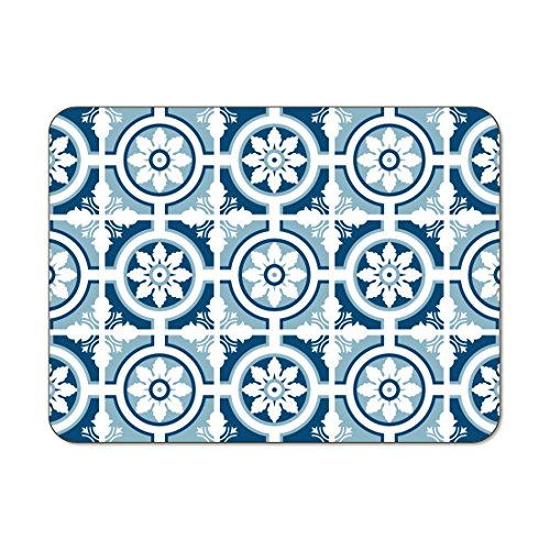 Jason Sets de table Lisbonne Bleu – Lot de 6