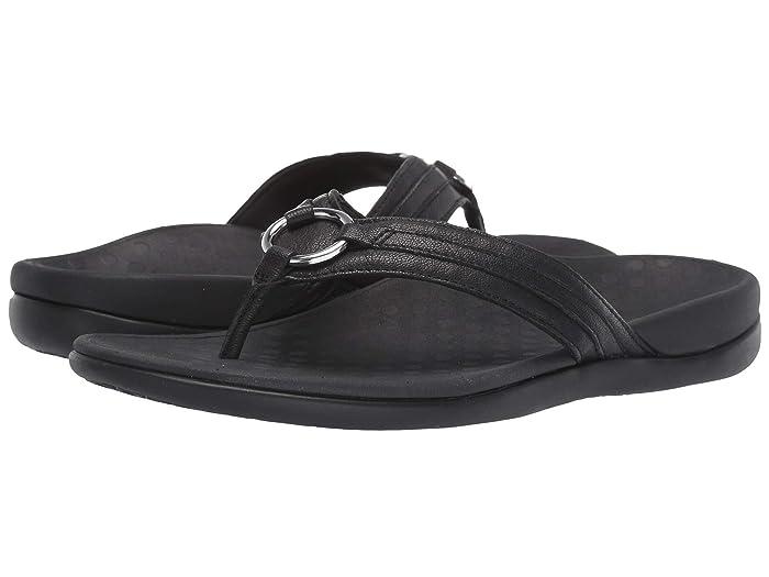 VIONIC  Aloe Leather (Black) Womens Shoes