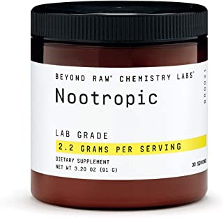 Beyond Raw Chemistry Labs Nootropic, 30 Servings, Cognitive Enhancer and Memory Support