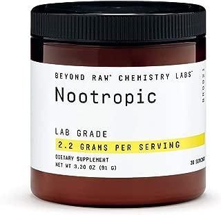 Beyond Raw Chemistry Labs Nootropic, 30 Servings