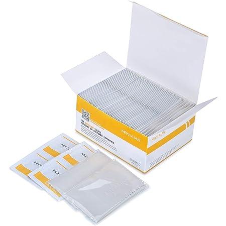 MOSSLIAN Lingettes Nettoyantes Multi Usages pour Lunettes, Tablette, Smartphone, Écran (100wipes+2cloth)