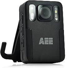دوربین پوشیده بدن AEE M16 با قابلیت ضبط صدا پوشیدنی 1080P HD روی بدنه پلیس نصب شده برای اجرای قانون ، حداکثر 128 گیگابایت ، 48 مگاپیکسل دوربین های سبک وزن و قابل حمل با طراحی جمع و جور