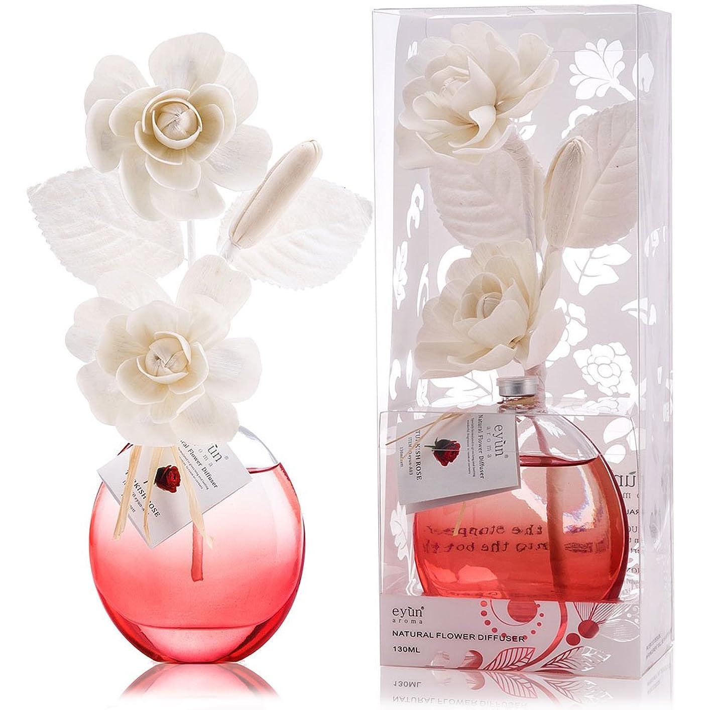 二層設計図思い出させる誕生日 プレゼント に A03 ルームフレグランス (花瓶:赤、香り:トルキッシュ ローズ)