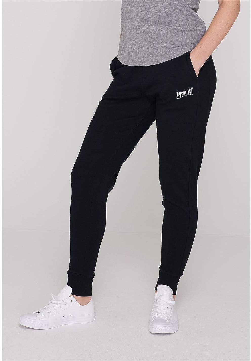 Femme EVERLAST pantalon de jogging jersey léger NEUF