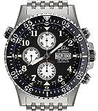 Xezo Montre chronographe, mécanisme Automatique Valjoux 7750 Suisse, Verre Saphir...