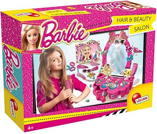 Lisciani Giochi- Barbie Hair And Beauty Salon Kit Creativo, Multicolore, 55975