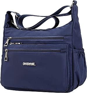 Baosity Shoulder Crossboby Handbag Womens Zipper Bag Waterproof Hobo Purse Wallet