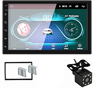 MiCarBa Android 8.0 カーナビ 2din 7インチ 1080P 高画質 タッチパネル GPS ミラーリンク対応マルチメディア プレーヤー(7200C)