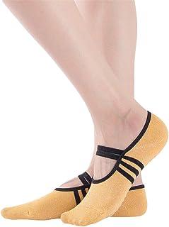 VWH Non-Slip Yoga Socks Sports Socks Ballet Socks Dance Socks for Women