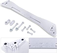 Ajp Distributors Rear Suspension Tie Bar Brace Silver Subframe For Honda Civic/Del Sol/Acura Integra Ex Eg Ej Gs Rs Ls Gs-R Dc2 Upgrade Performance Replacement Racing Kit