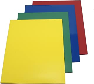 Colored Vinyl Magnet Sheets for Scrapbooking, Art, Decorations (8 Sheets)