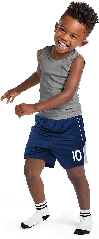 gar/çon fille 6 paires Anole Chaussettes Basses Enfant Antid/érapantes Sport Coton Chaud d/équipag Chausette