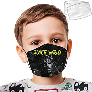 Ju-ice WRLD Anti Dust Mouth Kids Youth Breathable Adjustable Earloop Mouth With Filter