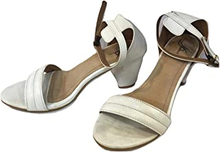 White Color Sandals for Girls