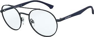Emporio Armani EA 1107 Matte Blue 53/20/145 men Eyewear Frame