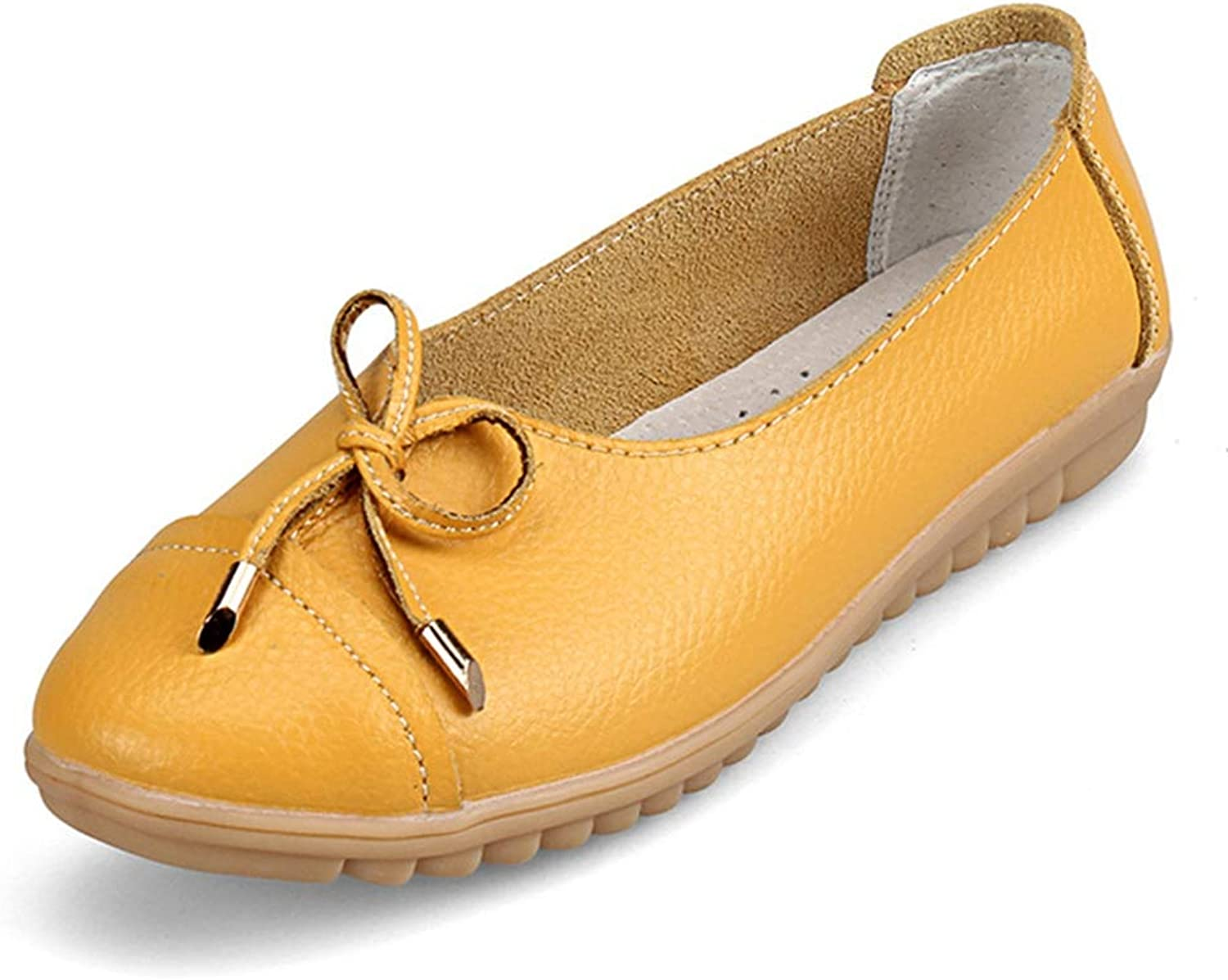 August Jim Women Loafers shoes,Low Heel Non-Slip Soft Leisure Flats shoes