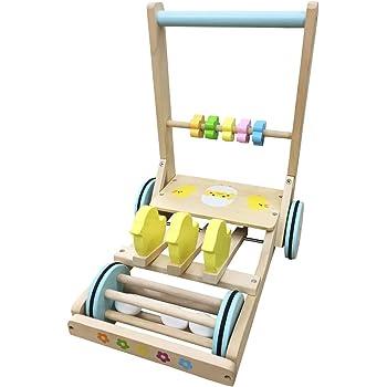 ひよこのカタカタ押し車 きこりのおもちゃ 木製 カタカタ 赤ちゃん ベビーウォーカー あんよ 練習 押し車 出産祝い