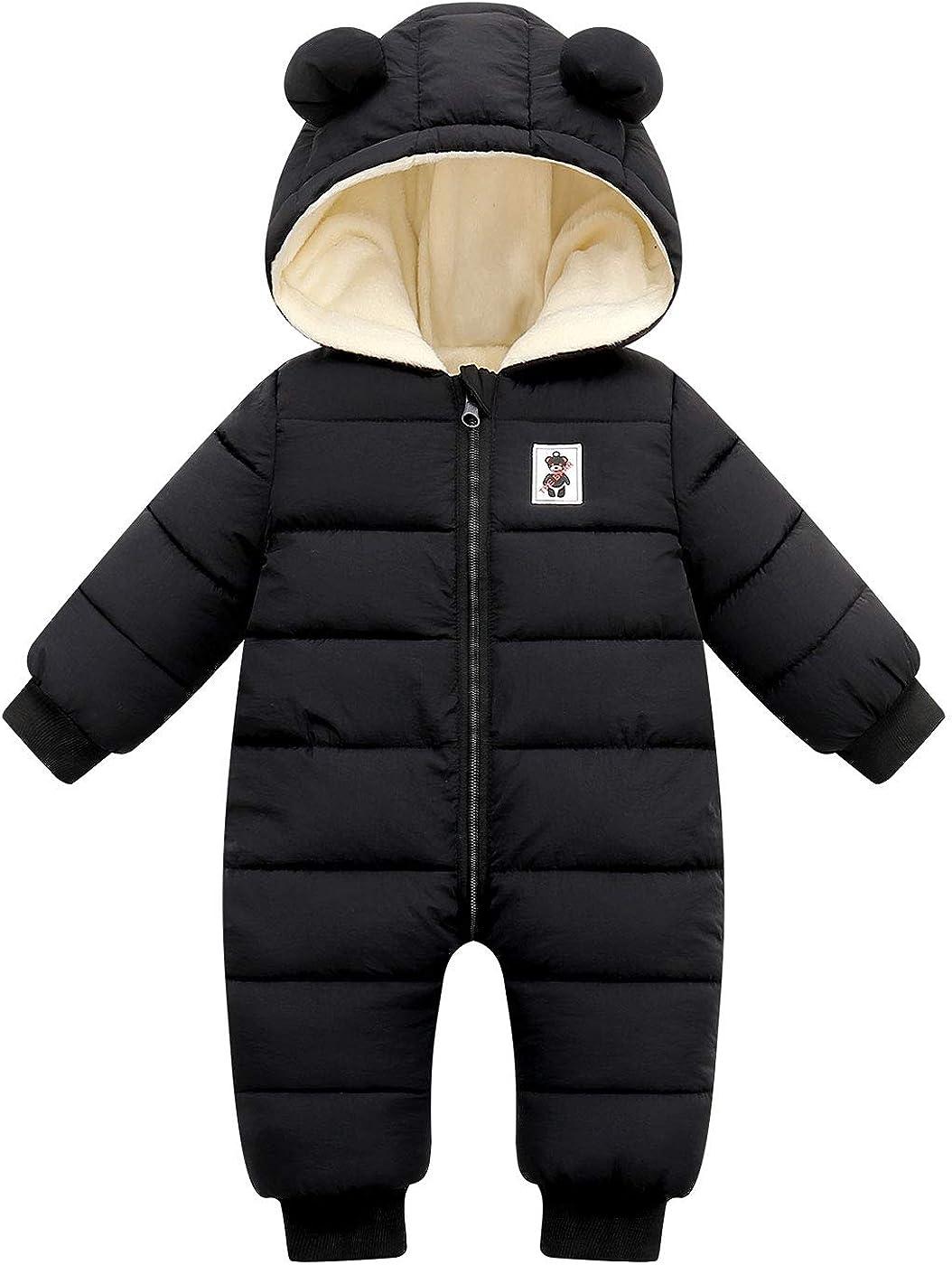 Max 69% OFF Ranking TOP8 Happy Cherry Baby Girls Boys Warm Ro Coat Snowsuit Jumpsuit Down
