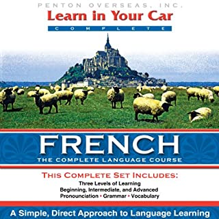 Couverture de Learn in Your Car: French, a Complete Language Course