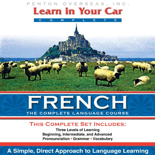 Learn in Your Car: French, a Complete Language Course audiobook cover art