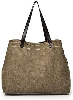Casual Women's bag Ms. 051 simple canvas handheld single shoulder bag,grown