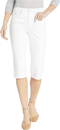 Soft Hues Denim Olivia Pedal Pusher in White