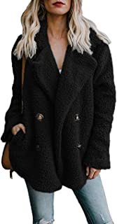 black teddy coat new look