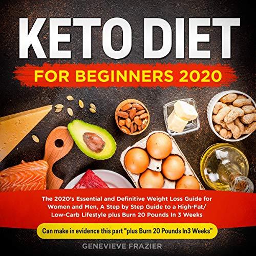 Keto Diet for Beginners 2020 Titelbild