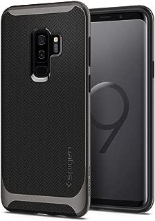 Capa Spigen para Galaxy S9 Plus (Tela 6.2), Spigen Neo Hybrid [Mil-Grade][Air Cushion][Dual Layer], Samsung Galaxy S9 Plus (Gunmetal)