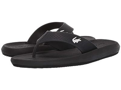 Lacoste Croco Sandal 219 1 CFA (Black/White) Women
