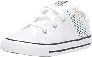 Converse Kids' Chuck Taylor All Star Madison Rainbow Foil Print Low Top Sneaker