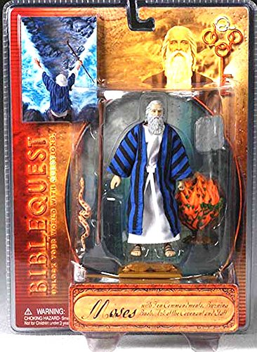 Biblequest Moses Action Figure