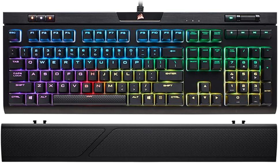 New Wrist Rest for Corsair K70 RGB K65 K68 RGB Strafe K95 Platinum Keyboard Wrist Rest Pad Palm Protection (K95 Platinum RGB)