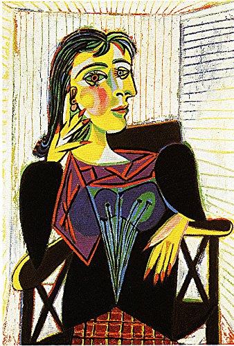 Ediciones BLOK Pablo Picasso. 42 x 32 cms Láminas de Arte Retrato de Dora Maar