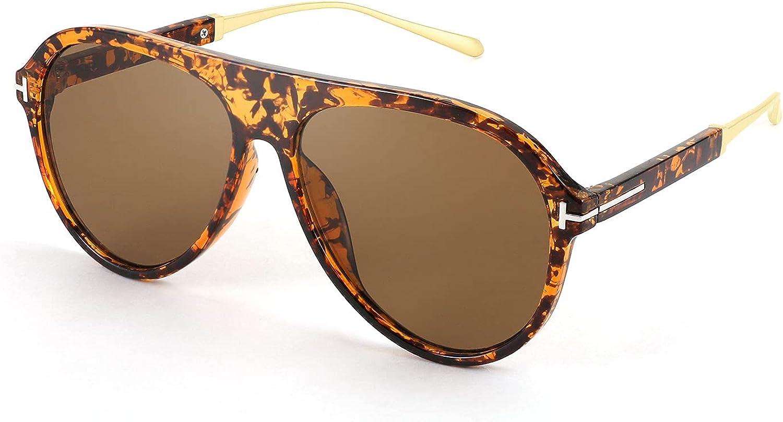 FEISEDY Retro 70s Aviator Fantastic Classic Oversized Sunglasses Product High quality new