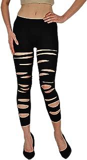 Capri Leggings - Front Slashed (Junior and Junior Plus Sizes)